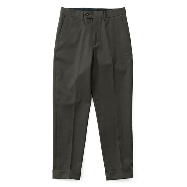 WOOL GABA BASIC TROUSER