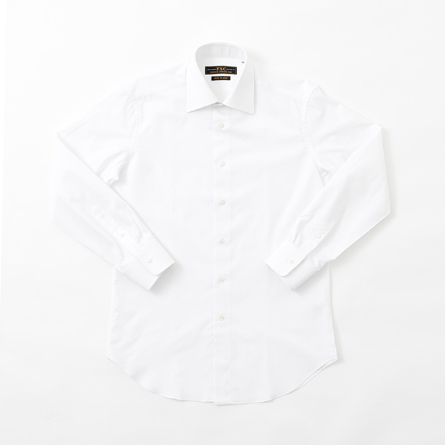 COTTON BROAD DRESS SHIRT