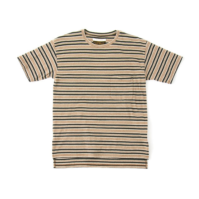 COLOR BORDER TEE