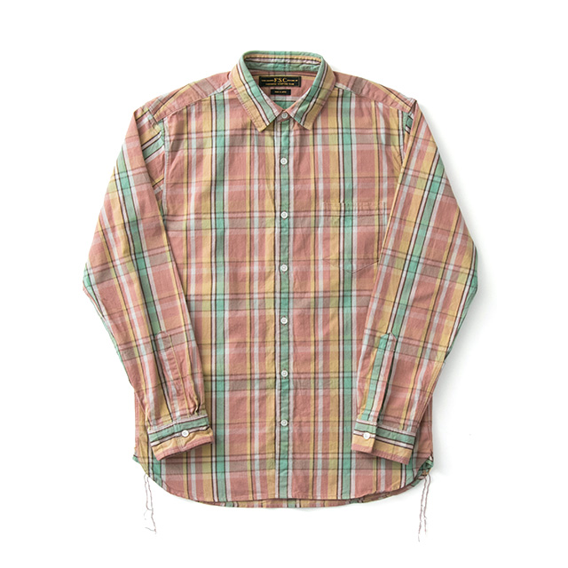 FREEMANS SPORTING CLUB JP HEAVY CHECK WORK SHIRTS