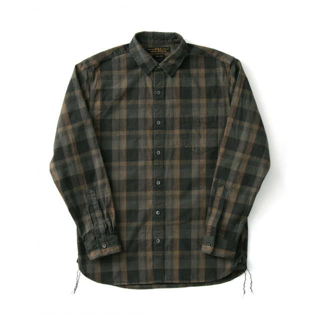FREEMANS SPORTING CLUB JP OIL CUT CHECK WORK SHIRT