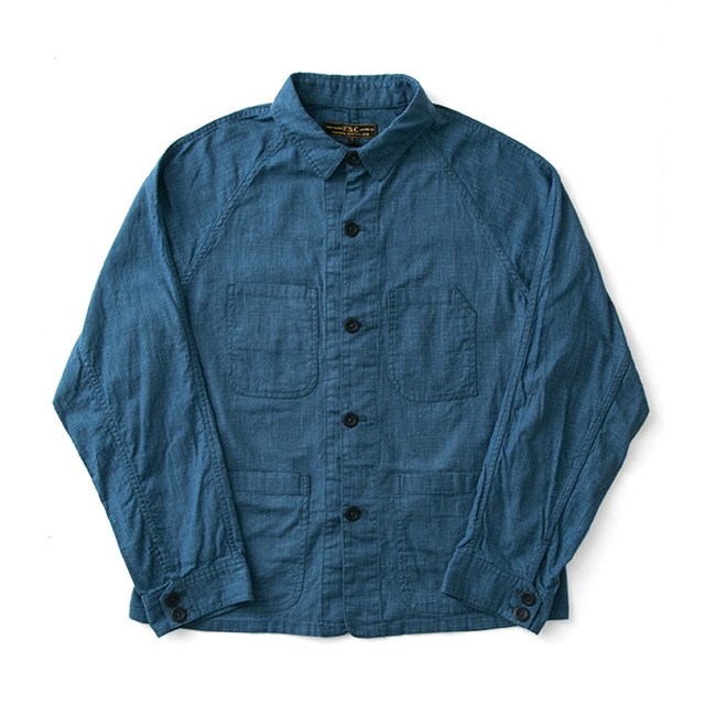 FREEMANS SPORTING CLUB JP SLUB CLOTH CHORE JACKET