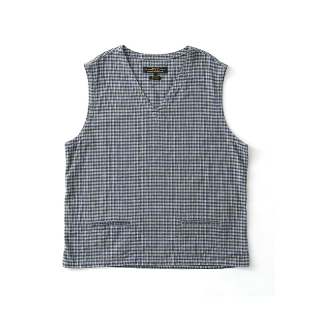 FREEMANS SPORTING CLUB JP C/L CHECK VEST