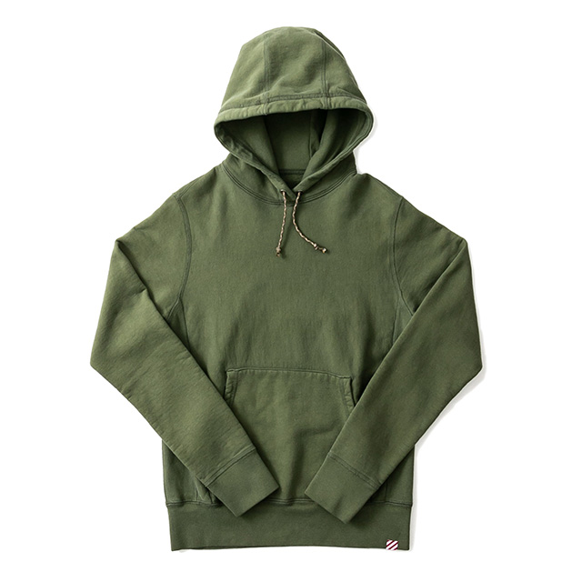 HOODED SWEAT PARKA