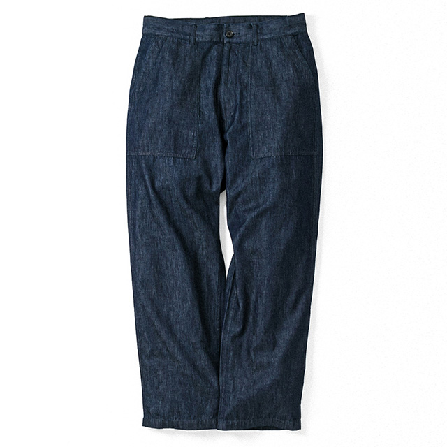 DENIM BAKER WIDE PANTS