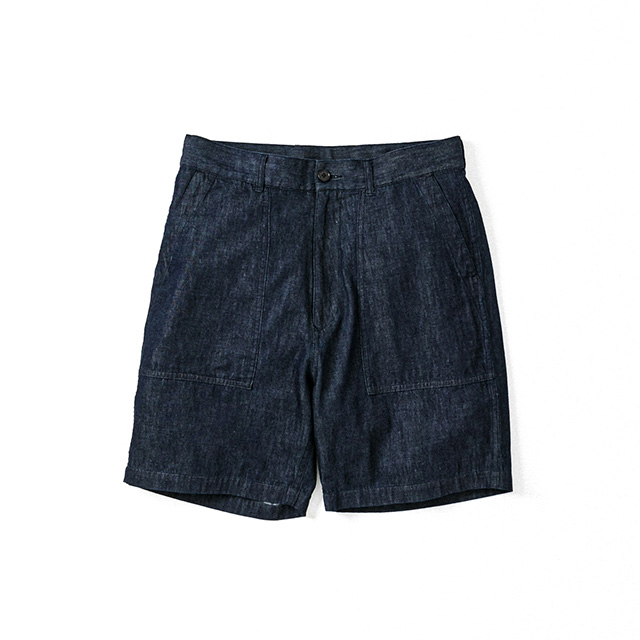 DENIM BAKER SHORTS