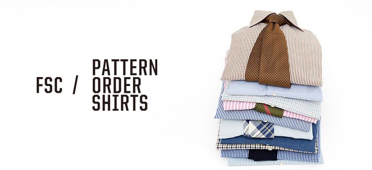 Pattern Order Shirts