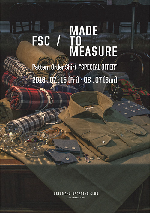 Pattern Order Shirt Fair