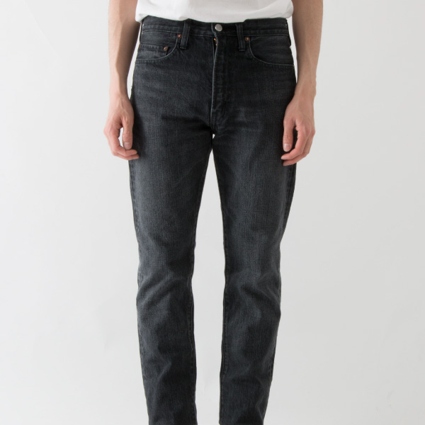 GOD OF DENIM SLIM LEG WASHED BLACK