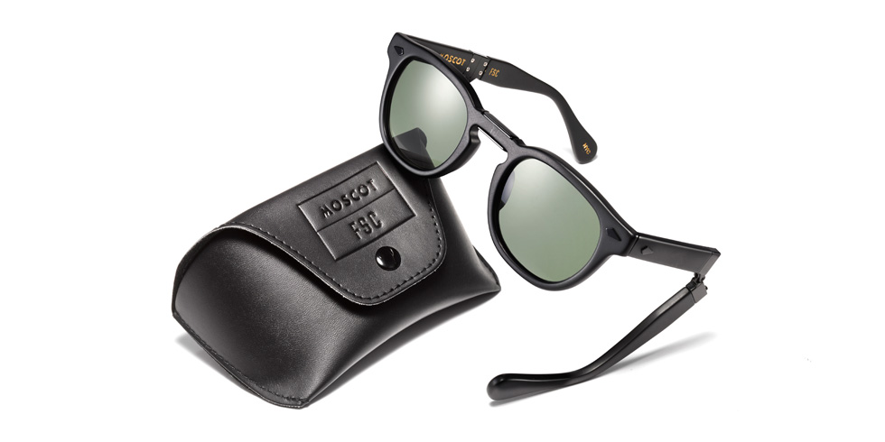 FREEMANS SPORTING CLUB × MOSCOT「LEMTOSH FOLD IN MATTE BLACK」