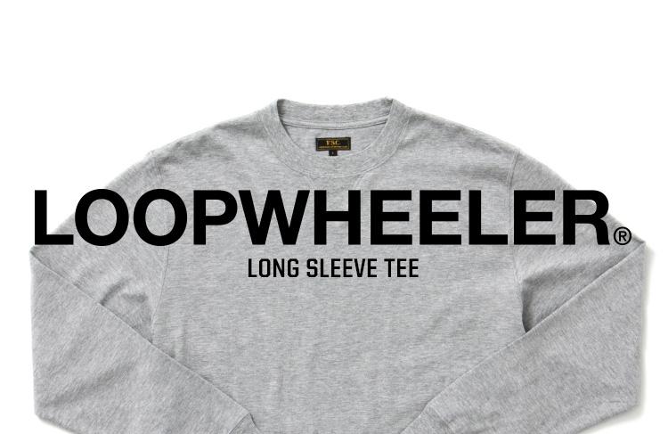 LOOPWHEELER LONG SLEEVE TEE