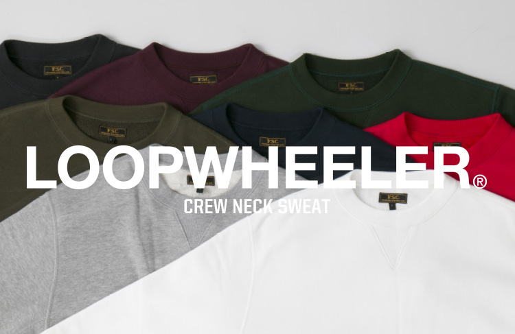 FSC x LOOPWHEELER NEW COLLABORATION 別注 スウェット