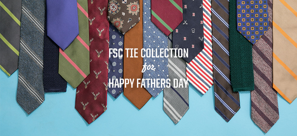 TIE COLLECTION FOR HAPPY FATHERS DAY