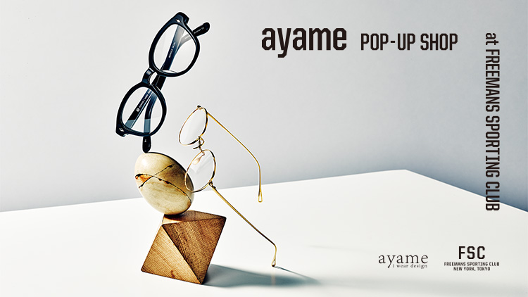 ayame POP UP SHOP