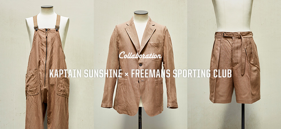 KAPTAIN SUNSHINE x FREEMANS SPORTING CLUB
