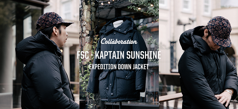 FREEMANS SPORTING CLUB - KAPTAIN SUNSHINE EXPEDITION DOWN JACKET