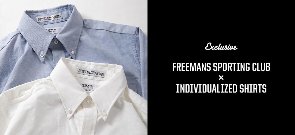 FREEMANS SPORTING CLUB x INDIVIDUALIZED SHIRTS