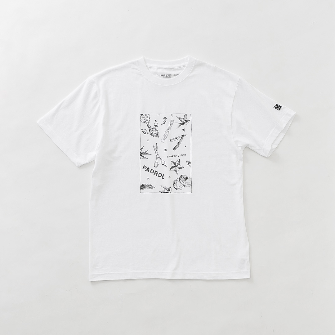 BARBER DRAWING TEE